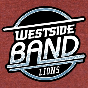 WESTSIDE LIONS - Unisex Tri-Blend T-Shirt by American Apparel