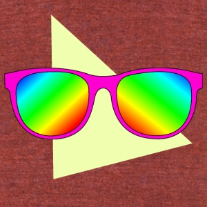 Sunglasses 001 - Unisex Tri-Blend T-Shirt by American Apparel
