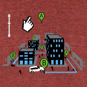 Bad Directions - Unisex Tri-Blend T-Shirt by American Apparel