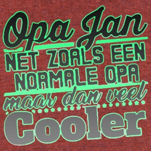OPA JAN COOLER - Unisex Tri-Blend T-Shirt by American Apparel