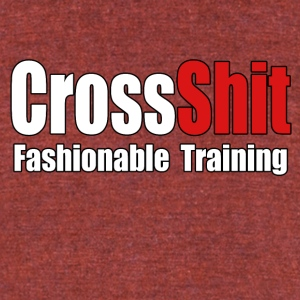 CrossShit Fashionable - Unisex Tri-Blend T-Shirt by American Apparel