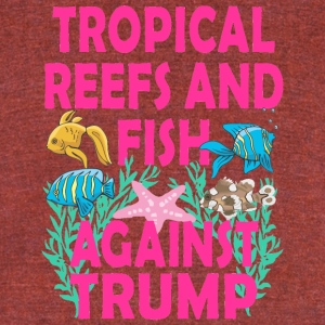 TRUMPTROPICALREEF - Unisex Tri-Blend T-Shirt by American Apparel