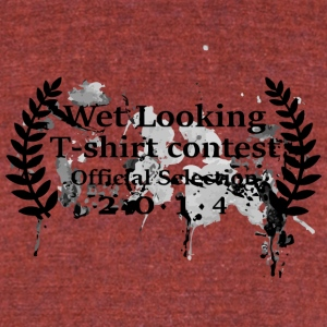 Wet Looking T Shirt Contest - Unisex Tri-Blend T-Shirt by American Apparel