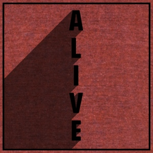 Alive - Unisex Tri-Blend T-Shirt by American Apparel