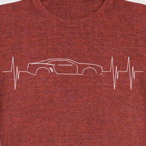 5th Generation Camaro Heartbeat - Unisex Tri-Blend T-Shirt by American Apparel