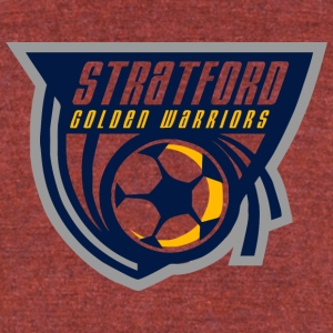 Stratford Golen Warriors - Unisex Tri-Blend T-Shirt by American Apparel