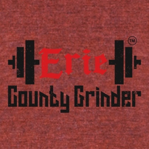 ERIE COUNTY GRINDER - Unisex Tri-Blend T-Shirt by American Apparel