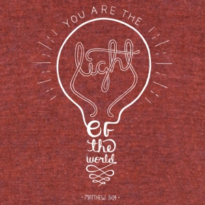 Matthew 5:14 - Unisex Tri-Blend T-Shirt by American Apparel