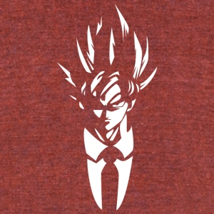super saiyan Mr goku t shirt - Unisex Tri-Blend T-Shirt by American Apparel