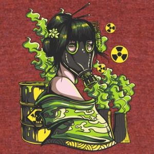 Nuclear mask - Unisex Tri-Blend T-Shirt by American Apparel