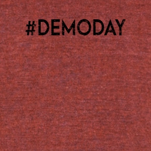 Demo Day - Unisex Tri-Blend T-Shirt by American Apparel