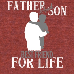 Father And Son Best Friend For Life T Shirt - Unisex Tri-Blend T-Shirt by American Apparel
