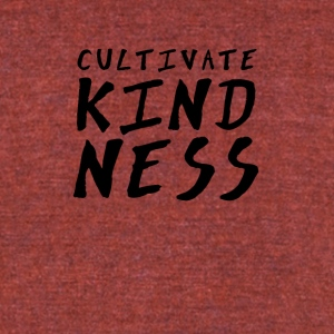Cultivate Kindness - Unisex Tri-Blend T-Shirt by American Apparel