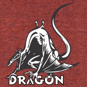 dragon_looking_like_a_rat - Unisex Tri-Blend T-Shirt by American Apparel