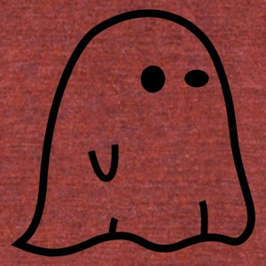 ghost - Unisex Tri-Blend T-Shirt by American Apparel