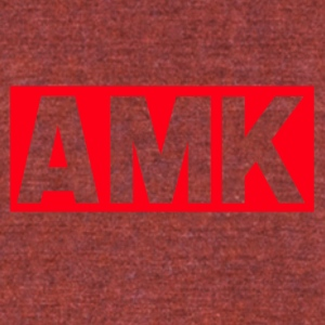 amk - Unisex Tri-Blend T-Shirt by American Apparel