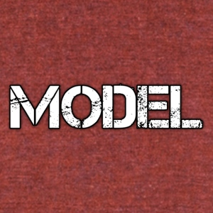 MODEL - Unisex Tri-Blend T-Shirt by American Apparel