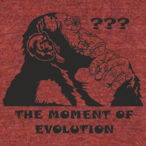 Evolution - Unisex Tri-Blend T-Shirt by American Apparel