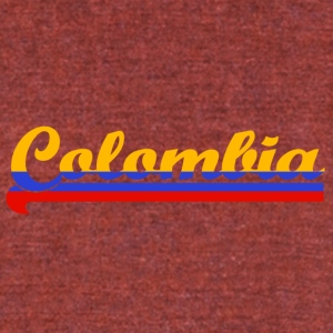 Colombia - Unisex Tri-Blend T-Shirt by American Apparel