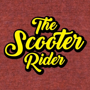 Scooter-Rider - Unisex Tri-Blend T-Shirt by American Apparel