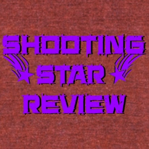Shooting Star Review Purple Logo - Unisex Tri-Blend T-Shirt by American Apparel