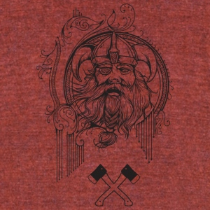 odin_god - Unisex Tri-Blend T-Shirt by American Apparel