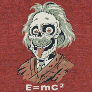 Einstein - Unisex Tri-Blend T-Shirt by American Apparel