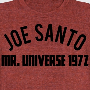 joe santo proto - Unisex Tri-Blend T-Shirt by American Apparel