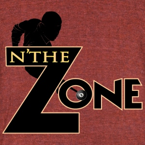 Zone Player Left - Unisex Tri-Blend T-Shirt by American Apparel