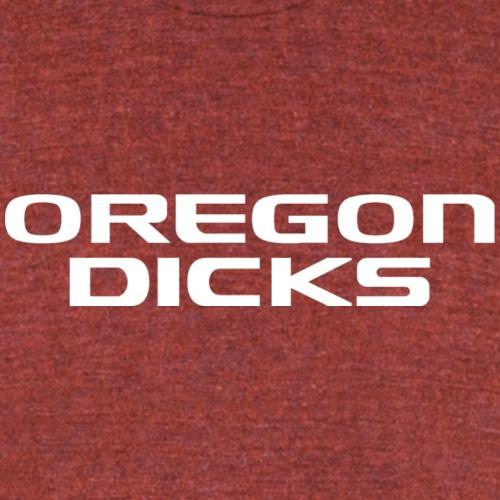 oregondickswhite - Unisex Tri-Blend T-Shirt