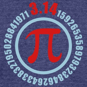 PiDAY - Unisex Tri-Blend T-Shirt by American Apparel