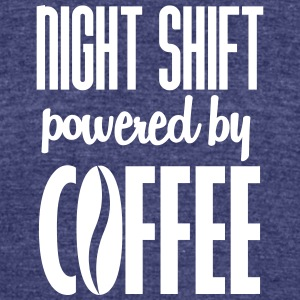 Night shift - Unisex Tri-Blend T-Shirt by American Apparel