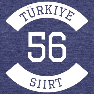 turkiye 56 - Unisex Tri-Blend T-Shirt by American Apparel