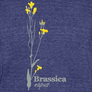 Canola vintage - Unisex Tri-Blend T-Shirt by American Apparel