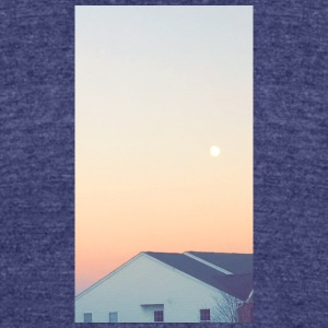 Sunset - Unisex Tri-Blend T-Shirt by American Apparel