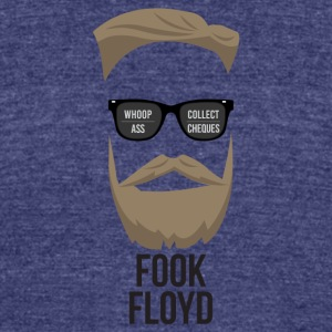 Fook Floyd - Unisex Tri-Blend T-Shirt by American Apparel