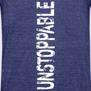 vertical unstoppable - Unisex Tri-Blend T-Shirt by American Apparel