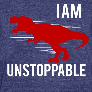 I am unstoppable - Unisex Tri-Blend T-Shirt by American Apparel