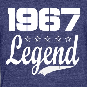 67 Legend - Unisex Tri-Blend T-Shirt by American Apparel