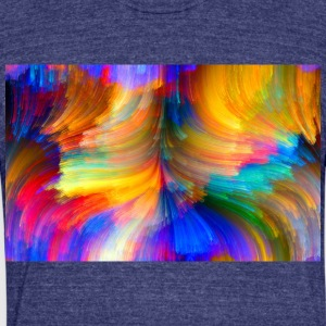 ColoredHair - Unisex Tri-Blend T-Shirt by American Apparel