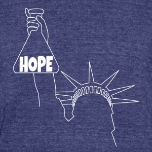 I am a Beaker of Hope - Unisex Tri-Blend T-Shirt by American Apparel