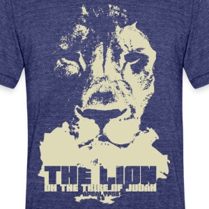 Lion of Judah - Unisex Tri-Blend T-Shirt by American Apparel