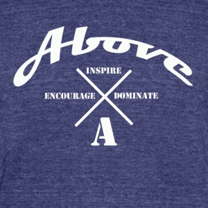 ABOVE ARC - Unisex Tri-Blend T-Shirt by American Apparel