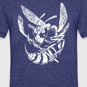 Hockey Hornet - Unisex Tri-Blend T-Shirt by American Apparel