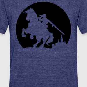 A Moonlight Ride - Unisex Tri-Blend T-Shirt by American Apparel