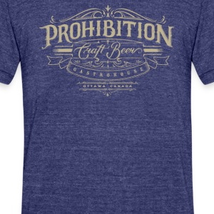 Prohibition gastrohouse - Unisex Tri-Blend T-Shirt by American Apparel