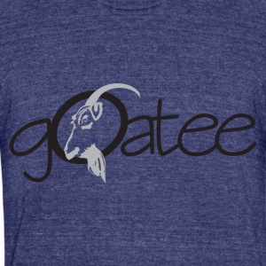 goatee - Unisex Tri-Blend T-Shirt by American Apparel