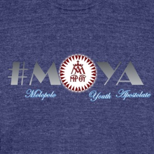 Moya Organizational t-shirt - Unisex Tri-Blend T-Shirt by American Apparel
