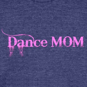 Dance Mommy - Unisex Tri-Blend T-Shirt by American Apparel