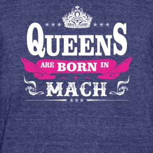 birthday march queen are born in march - Unisex Tri-Blend T-Shirt by American Apparel